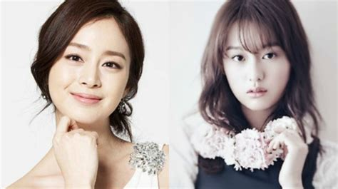so ji sub kim ji won fans collect 8 pairs of celebrities that look more alike