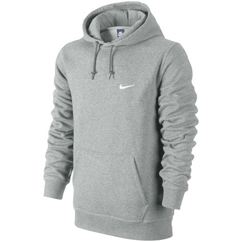 Hoodie Jumper Rebel8 Grey nike swoosh hoodie fleece hooded sweater sweatshirt jumper autumn grey xl ebay