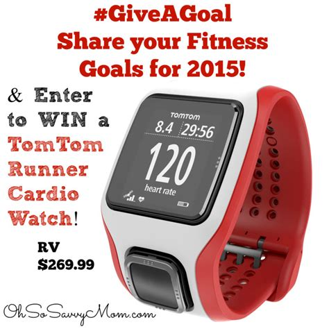 Watch Giveaways - tomtom runner cardio watch giveaway oh so savvy mom