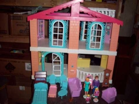 talking dolls house talking family doll house 90s princess pinterest