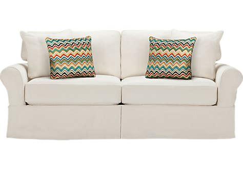 cindy crawford beachside sofa cindy crawford home beachside natural sofa sofas white