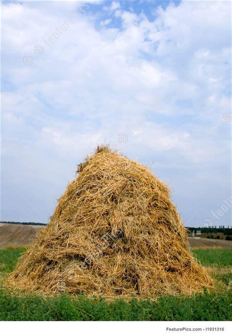 haystack hay straw photo
