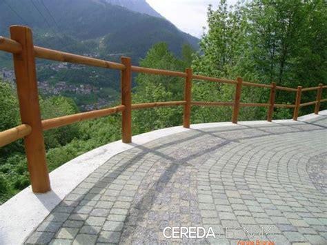 staccionate in legno per giardini staccionata in legno cereda legnami agrate brianza