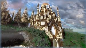 Cottage Blueprints Minecraft Tropical Sandstone Castle Youtube