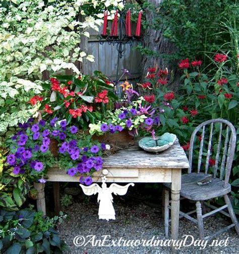 Whimsical Garden Ideas Nine Steps Create An Extraordinary Container Garden An Extraordinary Day