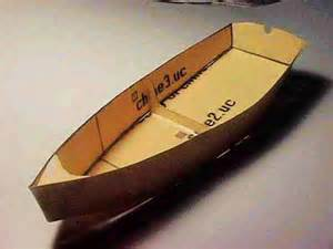 cardboard model boat template modelmaking