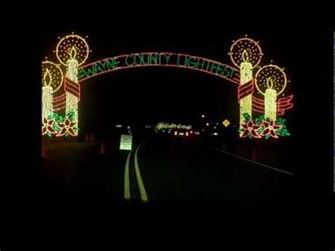 hines drive wayne county lightfest 2010 youtube