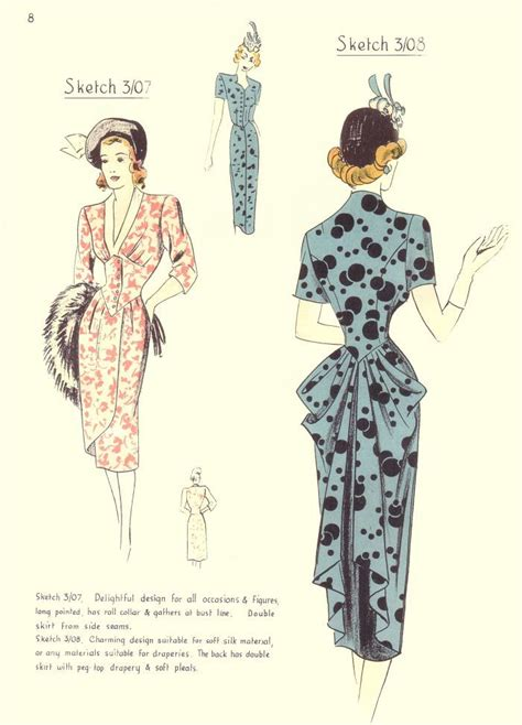 pattern cutting history 52 best 1948 fashion images on pinterest 1940s style
