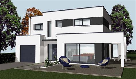 moderne sichtschutzzäune maison moderne aconstruire chaios