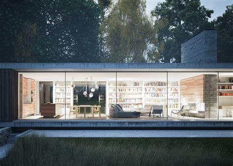 Maison Plain Pied Design by Une Maison Design D Architecte Plain Pied En Angleterre
