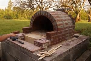 how to make your own diy outdoor pizza oven