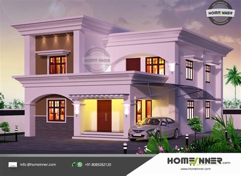 home design arabic style 2182 sqft arabic style 5 bhk villa design penting ayo di