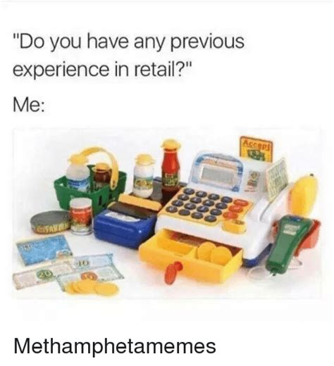 Does Working In Retail Count As Experience For Mba by Do You Any Previous Experience In Retail Me Ace