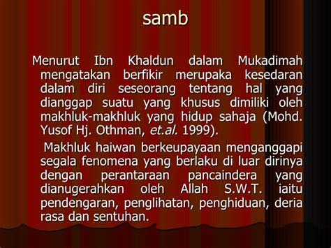 Ibn Khaldun Dalam Pandangan Barat Dan Timur spe bab1