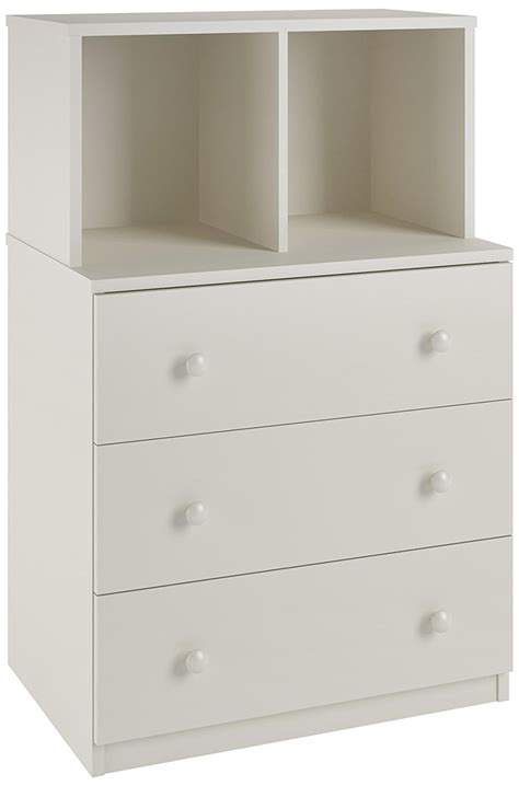 3 drawer dresser with cubbies skyler 3 drawer dresser with cubbies white rochester