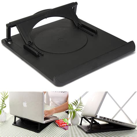 laptop desk accessories laptop holder cooling 360 176 rotation stand mount notebook