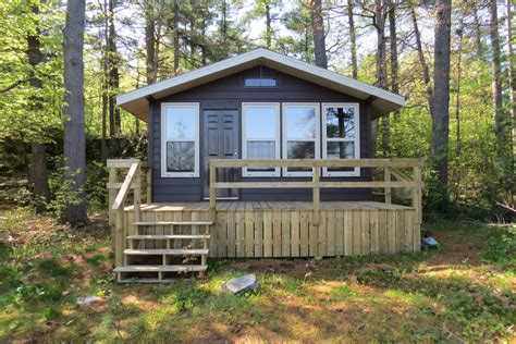 Awenda Cottage by Roofed Accommodation At Ontario Parks
