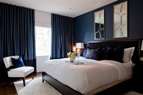 navy bedrooms jane lockhart bedroom with dark navy walls transitional