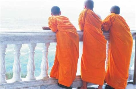 What Lies Beneath The Robes Are Buddhist Monasteries Suitable Places For Children Adele Buddhist Robes Tumblr
