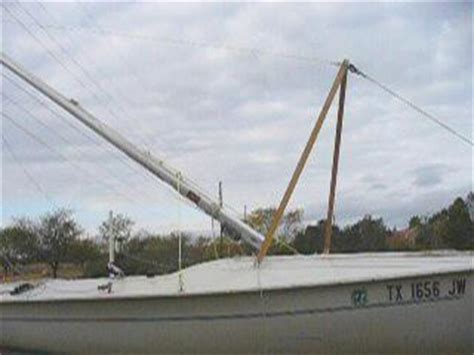 sailboat pole plans for sailboat mast raising system mark william