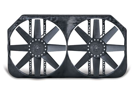 flex a lite adjustable electric fan controllers flex a lite automotive dual 15 inch electric puller fan