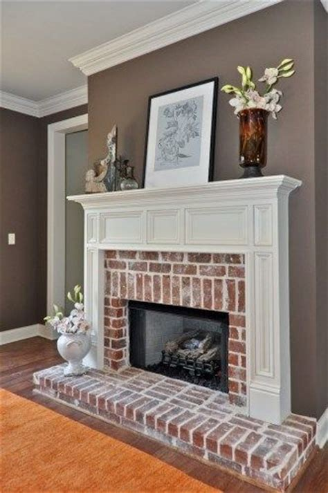 the best paint colours for walls to coordinate with a brick fireplace paint colors fireplaces