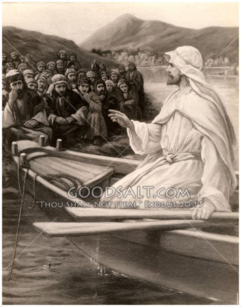 how to christen a boat christ teaching from a boat