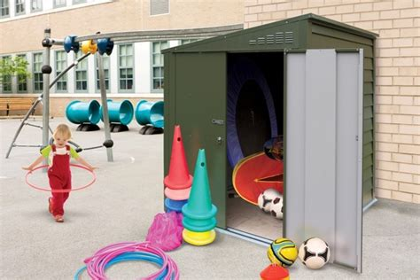 outdoor storage solutions for schools what are the benefits