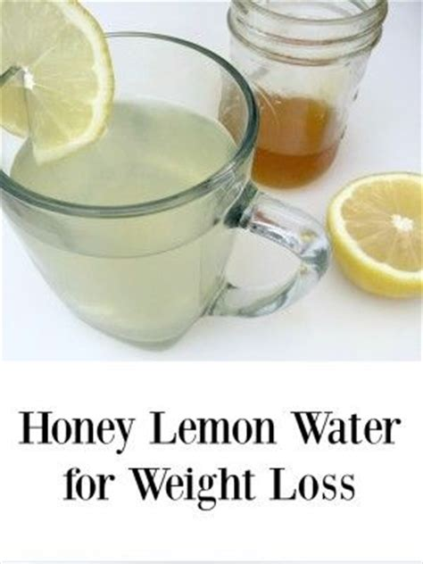 honey lemon water for weight loss recipe the amazing