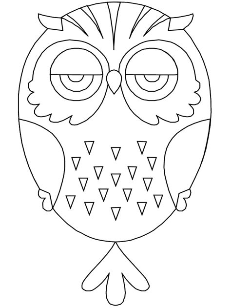 Owl Coloring Pages Free Printable Pictures Coloring Coloring Page Owl