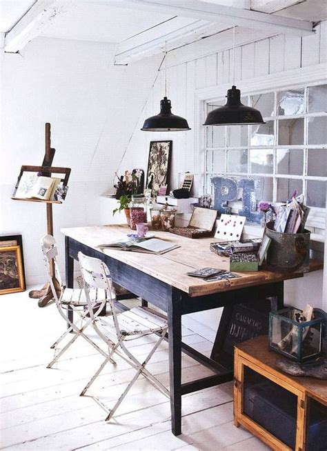 home workspace 30 cozy attic home office design ideas