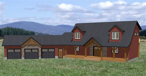 Plans For Building A Cabin redwood pine creek homes