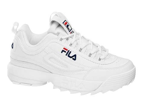 fila womens sneakers fila shoes womens sneaker disruptor low white snag my home
