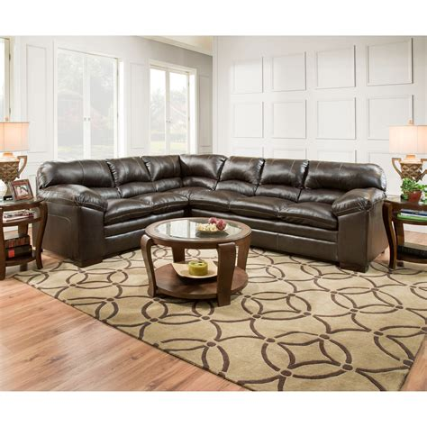 United Furniture Industries 8049 Casual Sectional Sofa Casual Sectional Sofas