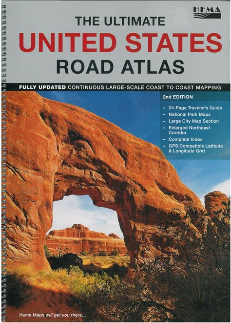 hema usa road map themapstore the ultimate united states road atlas united