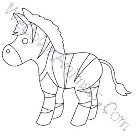 stripeless zebra coloring page zebra coloring pages