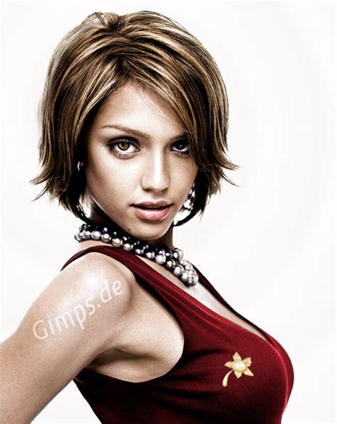 photos of haircuts pictures of photos short haircuts improve jessica alba