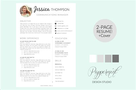 Organic Electronics Cover Letter by Resume Template Cover Letter Word Resume Templates On