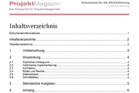 Word Vorlage Konzept Word Projekt Magazin