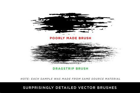 dragstrip  vector brush pack  von glitschka