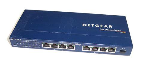 Original Network Netgear 8 Port 10 100mbps Fast Ethernet Switch netgear fs108 v2 8 port 10 100mbps fast ethernet switch