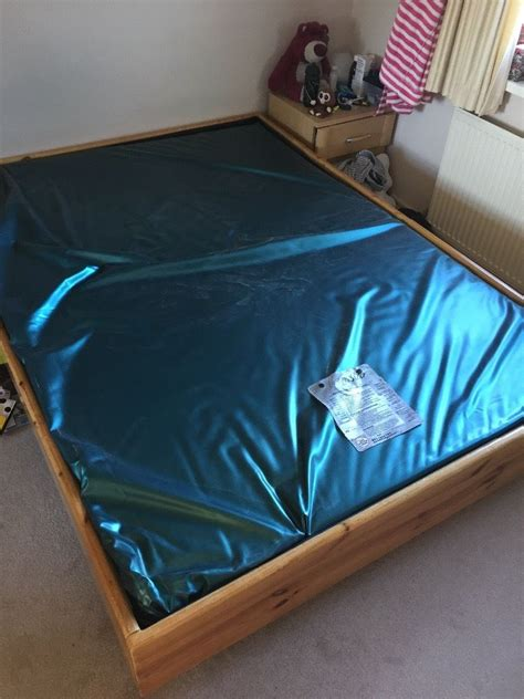 how much is a water bed water bed complete king size 7ft x 5ft 214cm x 152cm