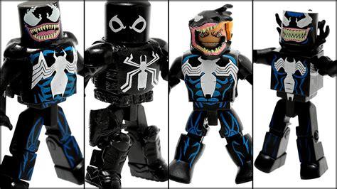 Venom Marvel Figure Mini Mates marvel minimates quot venom through the ages quot boxset