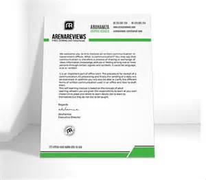 make a letterhead template in word a letterhead template in word documents letters