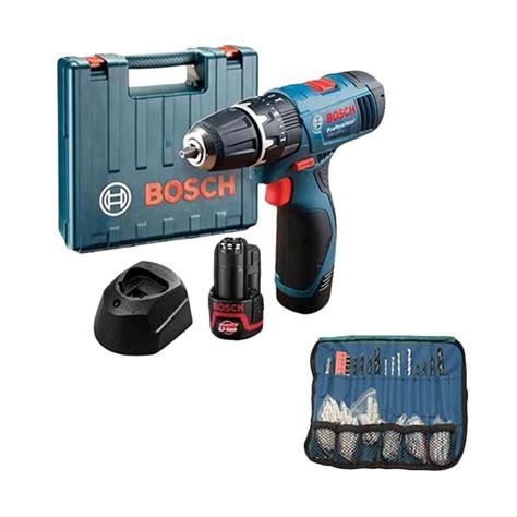 Bor Baterai Bosch jual bosch gsb 120 li 1 baterai mesin bor obeng tembok