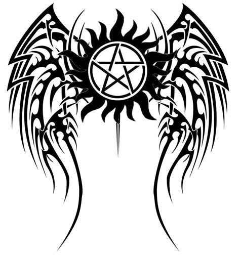 supernatural anti possession tattoo i want this on the