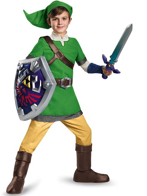 Ebay Zelda | legend of zelda link deluxe costume for kids ebay