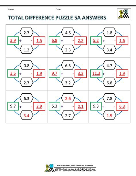 printable multiplication puzzle printable math puzzles 5th grade