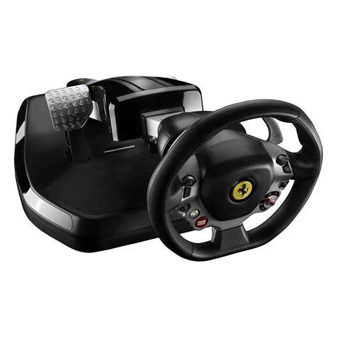 volanti compatibili xbox 360 thrustmaster vibration gt cockpit 458 italia edition