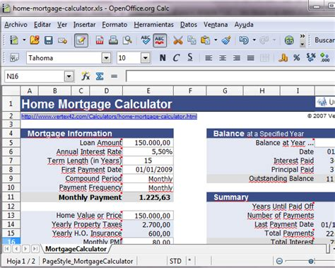 images home mortgage calculator